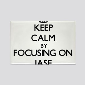 Keep Calm by focusing on on Jase Magnets