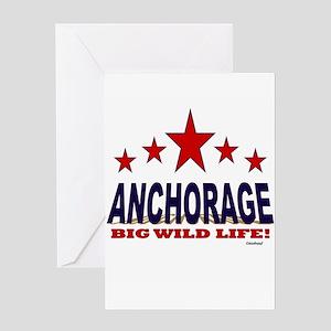 Anchorage Big Wild Life Greeting Card