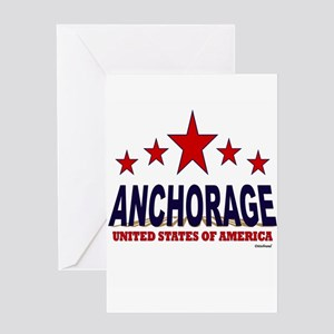Anchorage U.S.A. Greeting Card