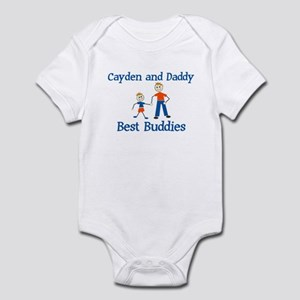 Cayden & Daddy - Best Buddies Infant Bodysuit