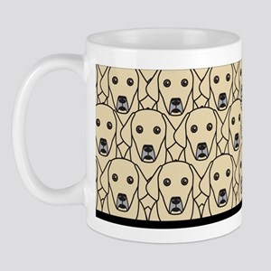 Lots of Yellow Labs Mug