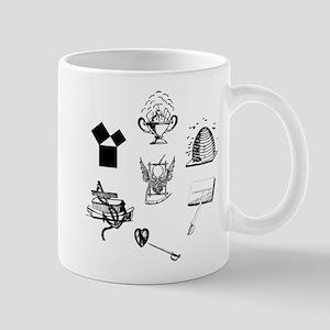 Master Mason Emblems No. 1 Mug