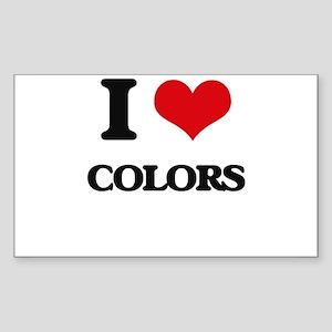 I love Colors Sticker