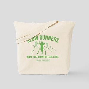 Slow Runners Tote Bag