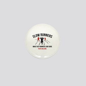 Slow Runners Mini Button
