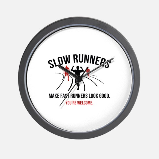 Slow Runners Wall Clock