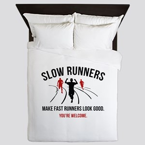 Slow Runners Queen Duvet