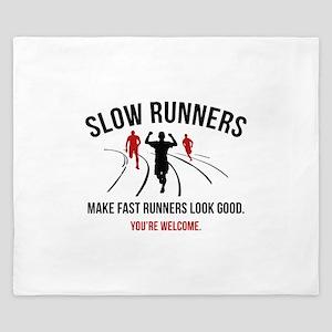 Slow Runners King Duvet