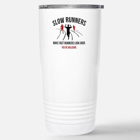 Slow Runners Ceramic Travel Mug