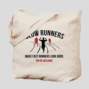 Slow Runners Tote Bag