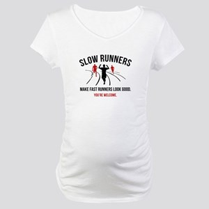 Slow Runners Maternity T-Shirt