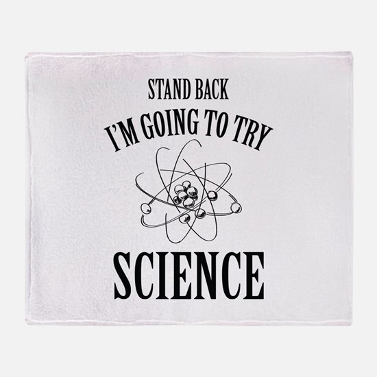 I'm Going To Try Science Stadium Blanket