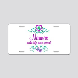Special Nanna Aluminum License Plate