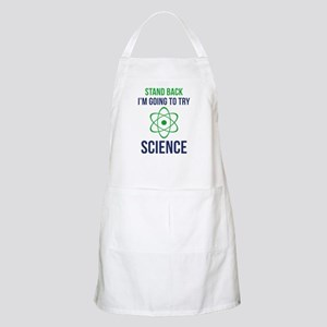 I'm Going To Try Science Apron