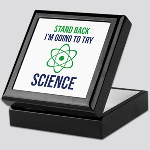 I'm Going To Try Science Keepsake Box