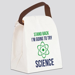 I'm Going To Try Science Canvas Lunch Bag