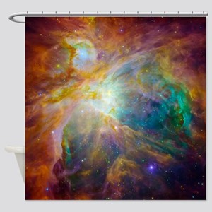 Chaos In Orion Shower Curtain