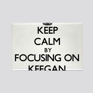 Keep Calm by focusing on on Keegan Magnets