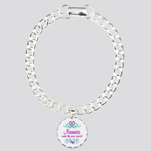 Special Nannie Charm Bracelet, One Charm