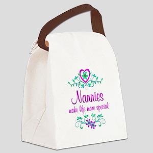 Special Nannie Canvas Lunch Bag