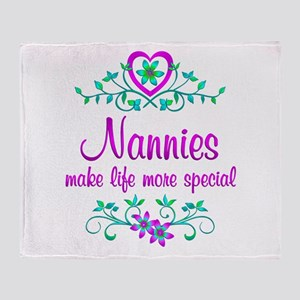 Special Nannie Throw Blanket
