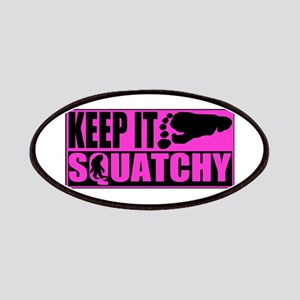 Keep it squatchy Pink Patches