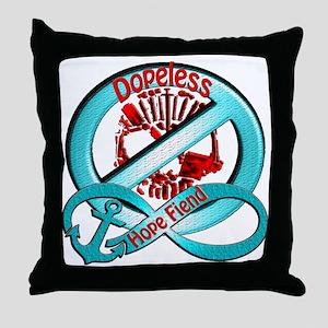 Dopeless Throw Pillow