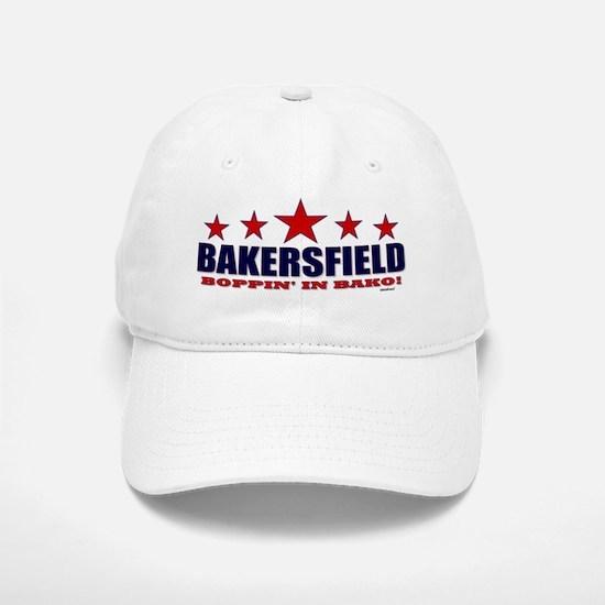 Bakersfield Boppin' In Bako Baseball Baseball Cap