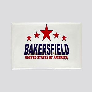 Bakersfield U.S.A. Rectangle Magnet