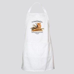A good book is... Apron