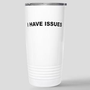 Ihaveissues Stainless Steel Travel Mug