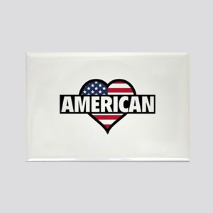 American Rectangle Magnet