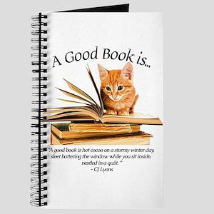 A good book is... Journal