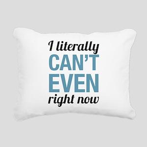 Cant Even Rectangular Canvas Pillow