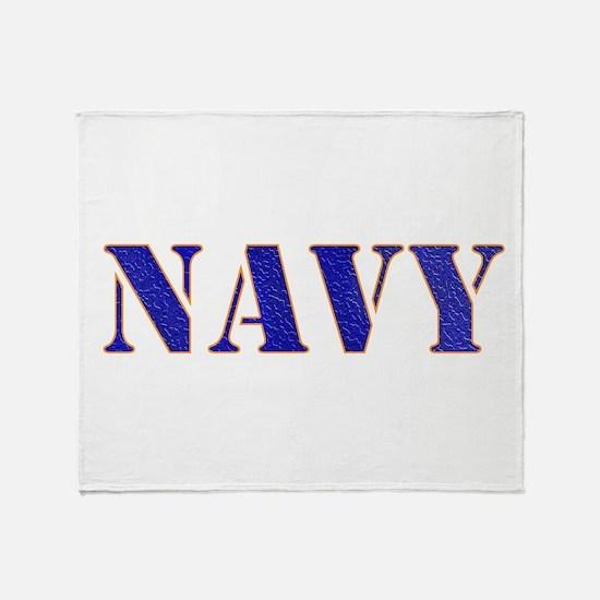 U.S. Navy Throw Blanket