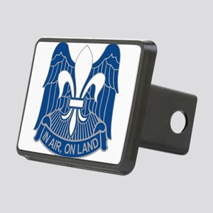 82nd ABN HQ Rectangular Hitch Cover