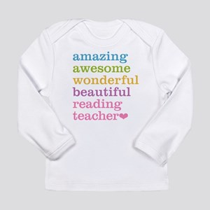 Reading Teacher Long Sleeve T-Shirt