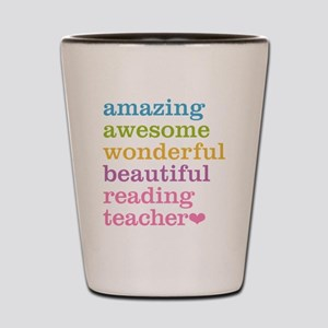 Reading Teacher Shot Glass