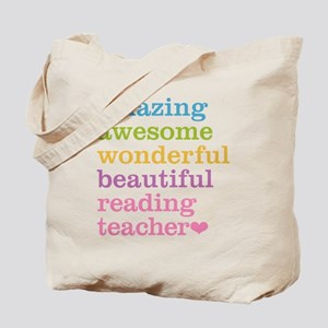 Reading Teacher Tote Bag