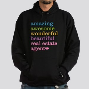 Real Estate Agent Hoodie (dark)