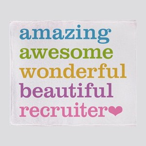 Awesome Recruiter Throw Blanket