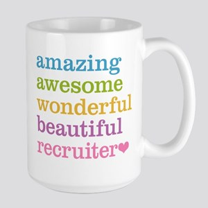 Awesome Recruiter Large Mug