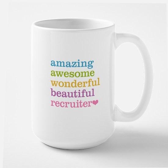 Awesome Recruiter Large Mug