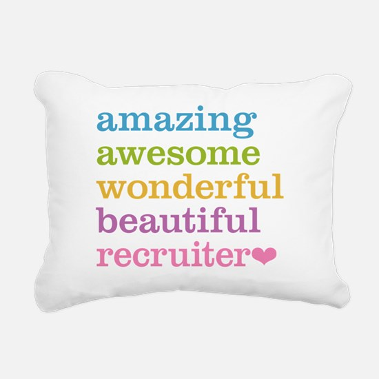 Awesome Recruiter Rectangular Canvas Pillow