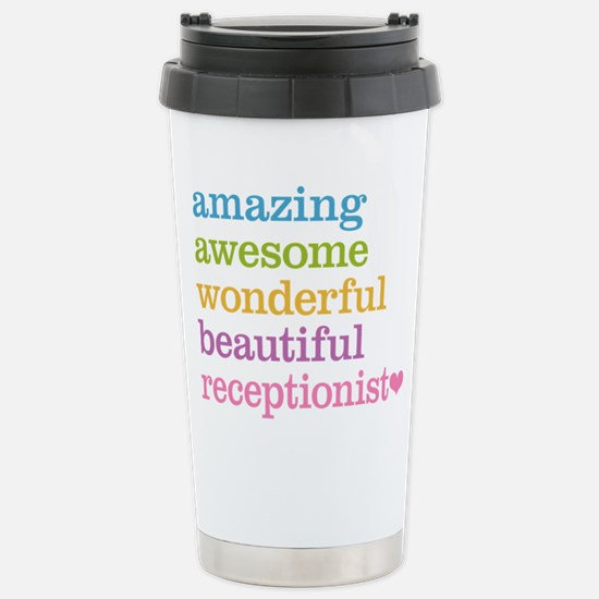 Receptionist Stainless Steel Travel Mug