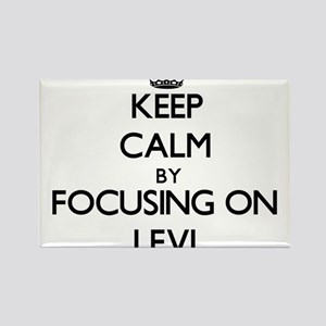 Keep Calm by focusing on on Levi Magnets