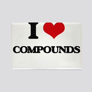 I love Compounds Magnets