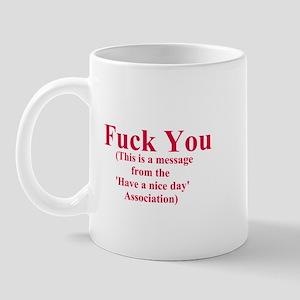 Fuck You (1) Mug