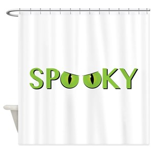 Spooky Eyes Shower Curtains