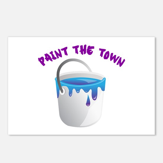 Paint The Town Postcards (Package of 8)